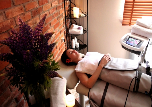 Spa treatments and procedures